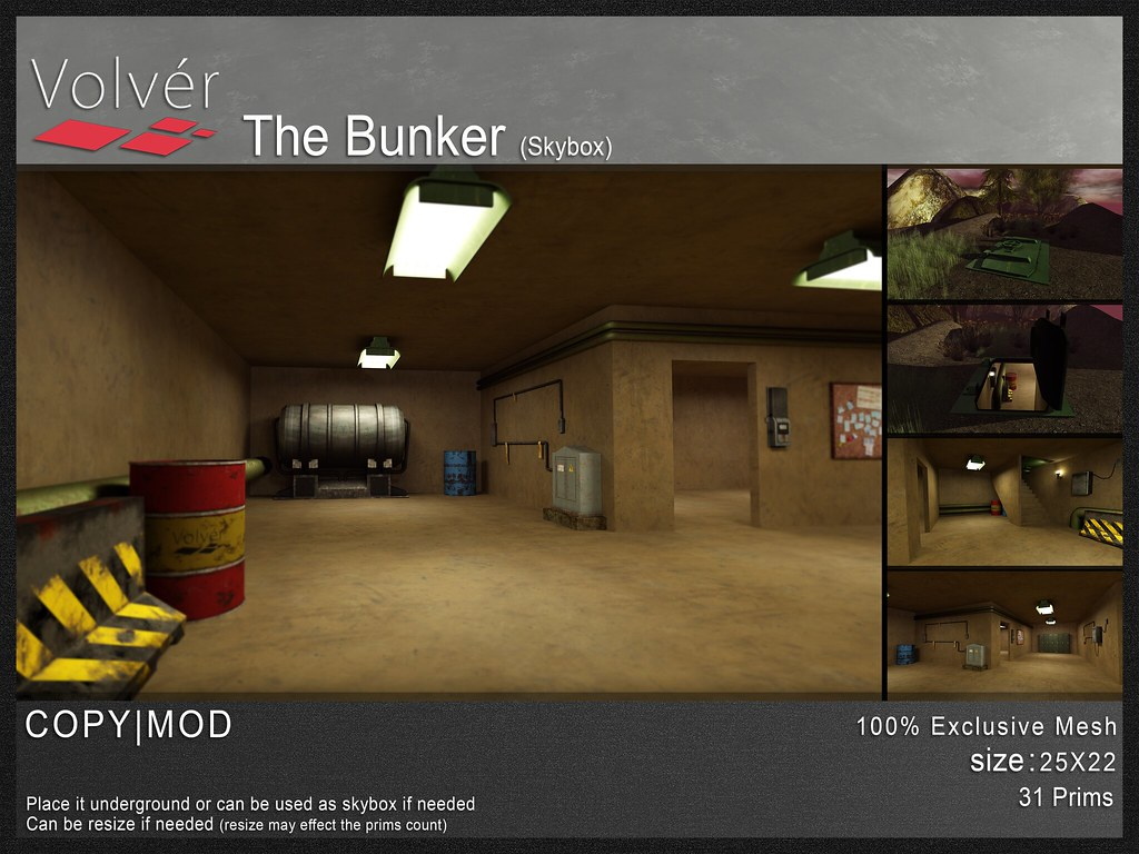 Volvér – The Bunker (skybox)