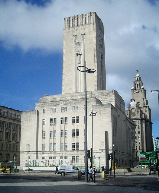 George's Dock Ventilation and Control Station,  Liverpool,