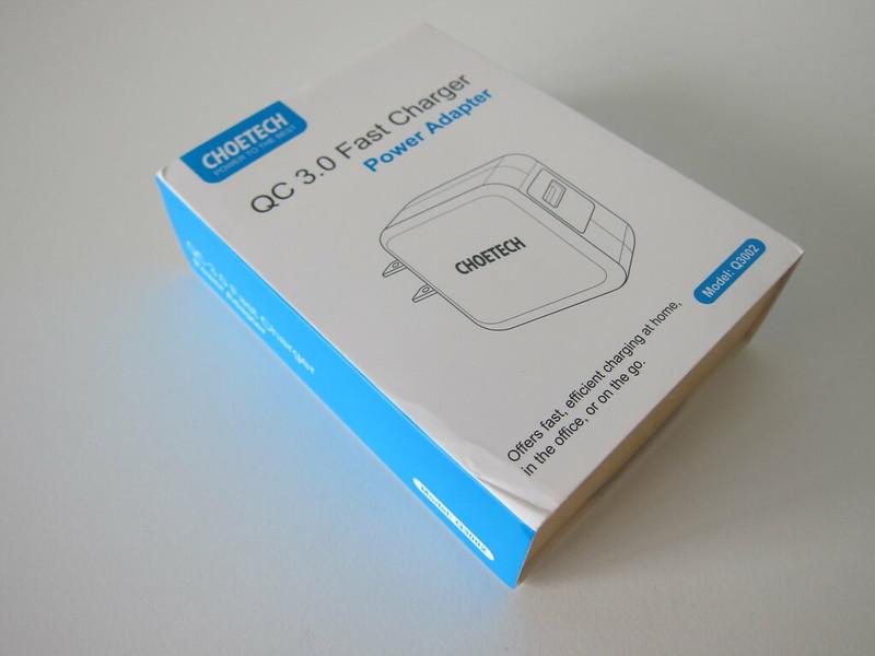 Choetech QC3 Fast Charger - Box