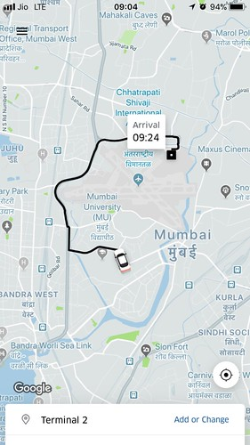 Uber to airport