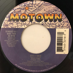 BOYZ II MEN:LET IT SNOW(LABEL SIDE-B)