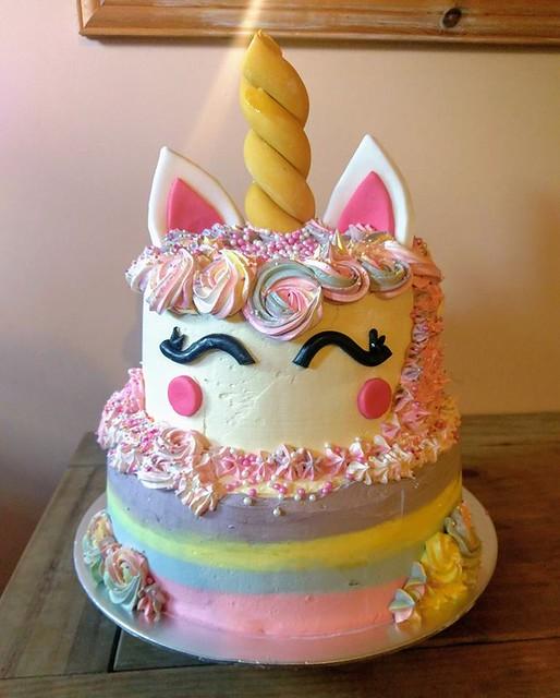 Unicorn Cake by Puddingpoke Puds