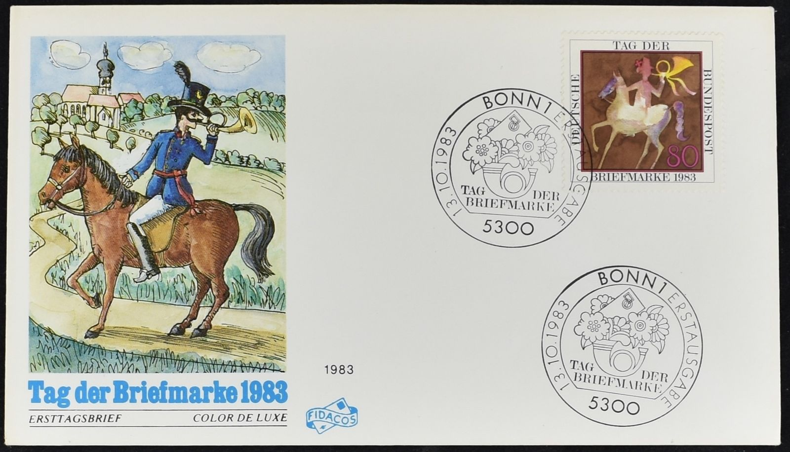 Germany - Scott #1405 (1983) first day cover