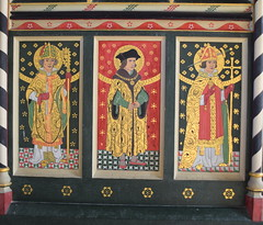 rood screen: St Felix, St Thomas More, St Thomas of Canterbury
