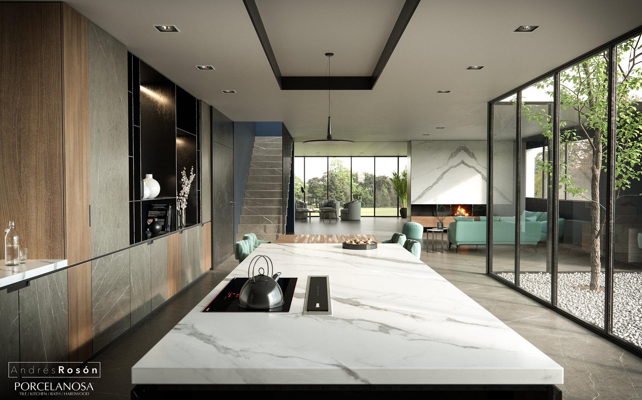 Kitchen Liem Grey/CGI