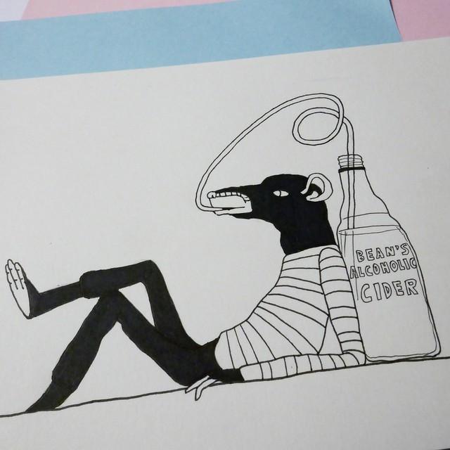Bottle & Rats