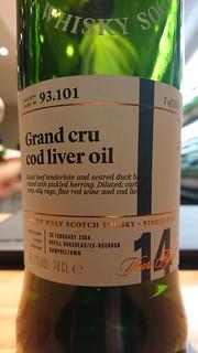 SMWS 93.101 - Grand cru cod liver oil