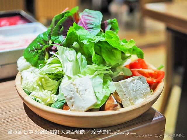 涮乃葉 台中 火鍋吃到飽 大遠百餐廳 35