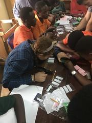 Agahozo Shalom Youth Village - teaching children to solder - Julia