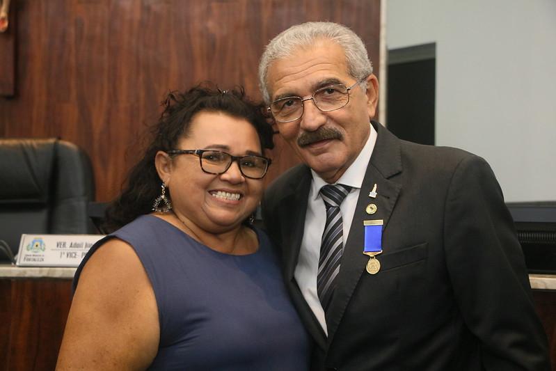 Medalha Boticário Ferreira ao sr. deputado estadual Walter Cavalcante