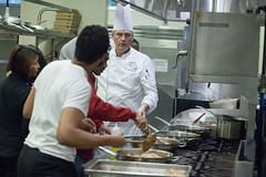 COD Community College Initiative Program Participants Cook, Learn Together 1
