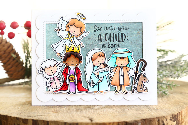 Nativity Play + Angel Wings (Neat and Tangled release week)
