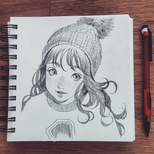 sketch 60: Toque