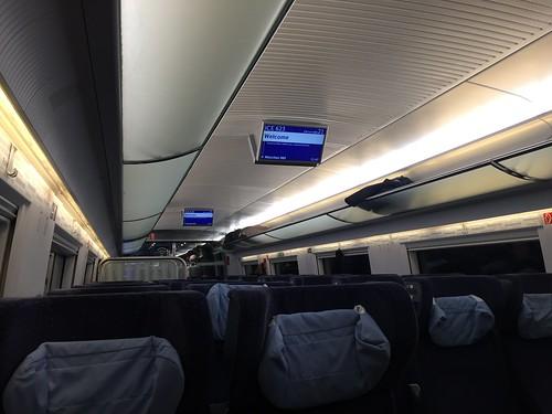 Im ICE nach München