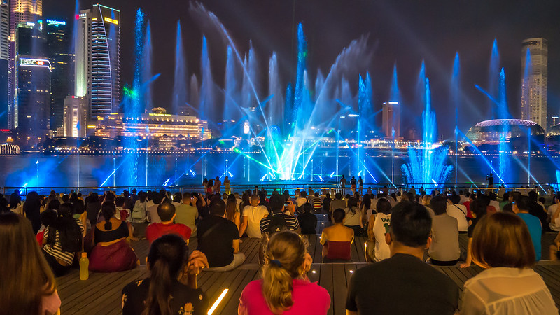 Spectra - A Light & Water Show, Marina Bay, Singapore