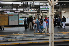Ueno train station