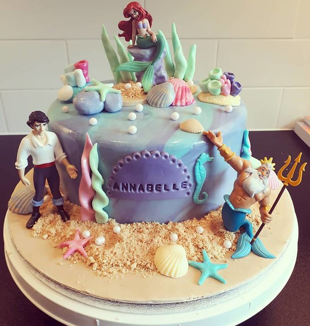 Little Mermaid Cake by Ellalicious Cake creations
