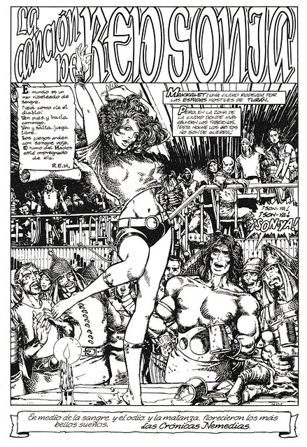 Conan de Roy Thomas y Barry Windsor Smith 07 -03- La Canción de Red Sonja 01