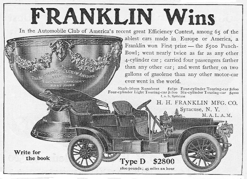 1906 Franklin