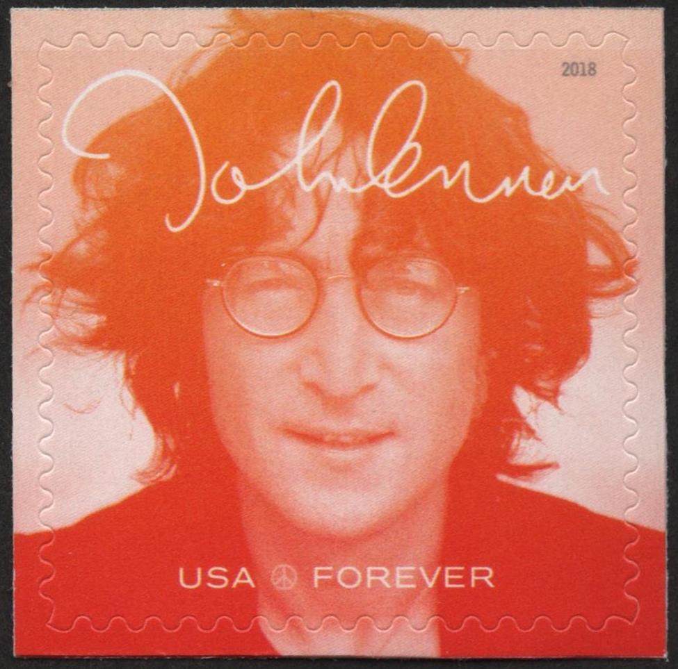 United States - John Lennon, issued September 7, 2018