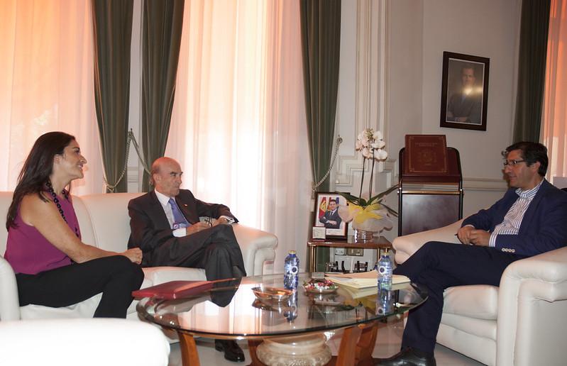 Visita institucional Presidente Diputación Provincial Ciudad Real