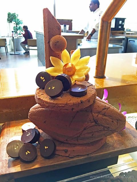Swiss Chocolate Sculpture