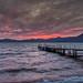 Sunset at Lake Shikotsu, Japan
