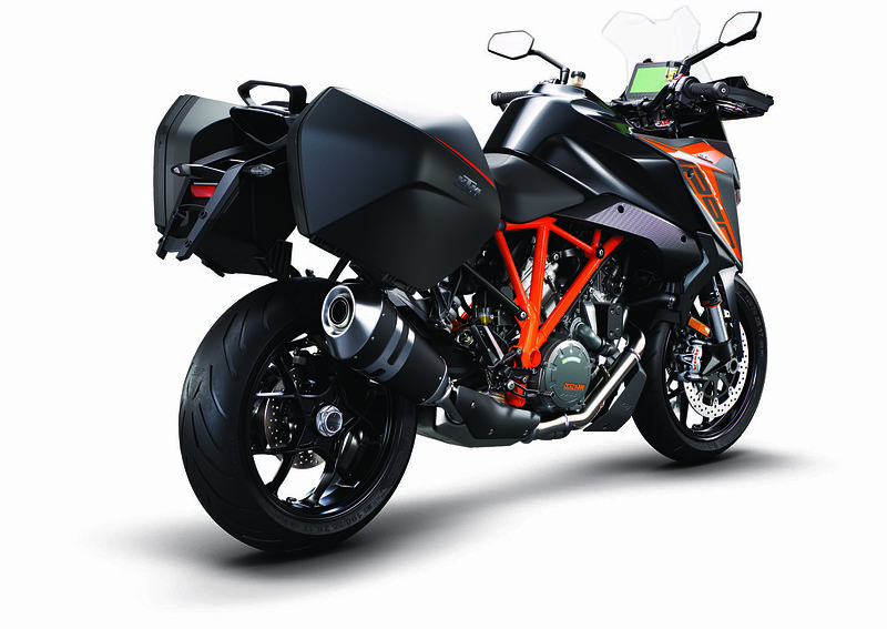 KTM 1290 Super Duke GT MY19 Black CASE R