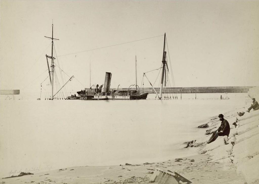 Гавань, С.С.«Карро». 11 марта 1887 года