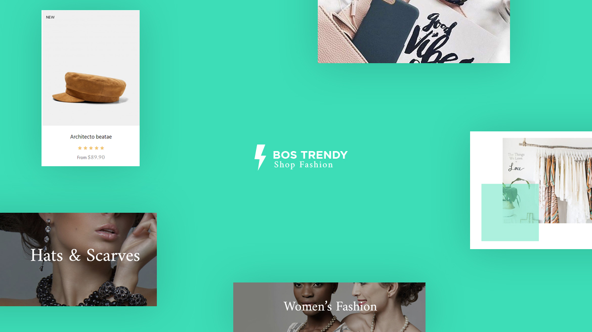 Bos Trendy - excellent fashion Prestashop theme
