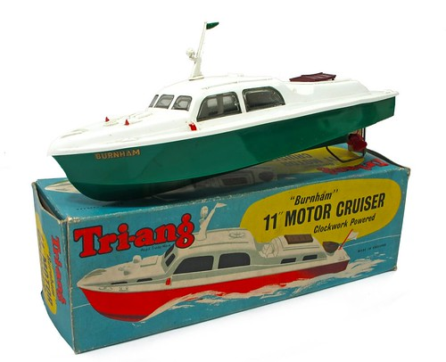 Triang Boat and box