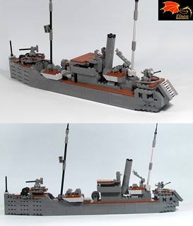 NRP Augusto de Castilho (Side/rear views)