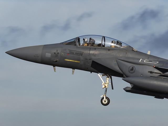 United States Air Force   McDonnell Douglas F-15E Strike Eagle   91-0313