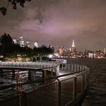 US NJ Hoboken - views of NYC skyline from Pier C Park