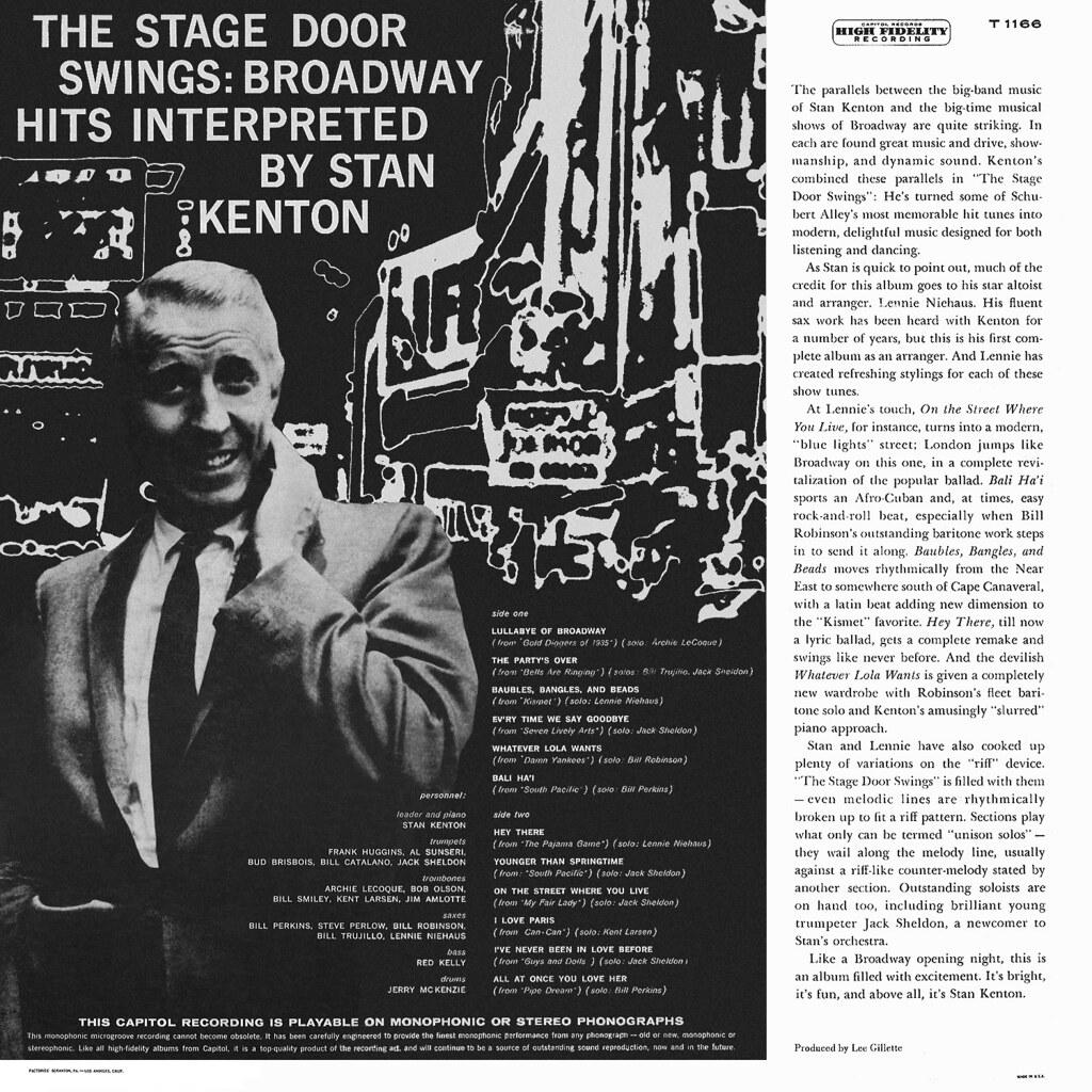 Stan Kenton - The Stage Door Swings