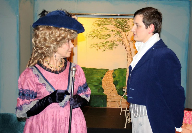 Pride Lady Catherine and Darcy