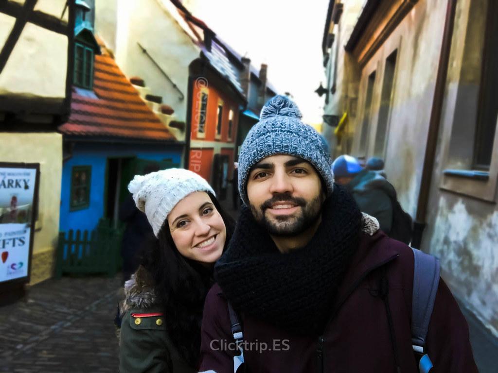 · Callejón del Oro · Castillo de Praga · Click_Trip