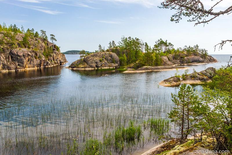 Скалистый остров, Хонкасало, Ладожское озеро