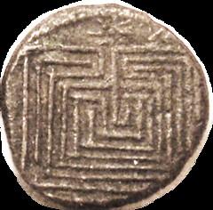 Knossos Labyrinth Bronze reverse