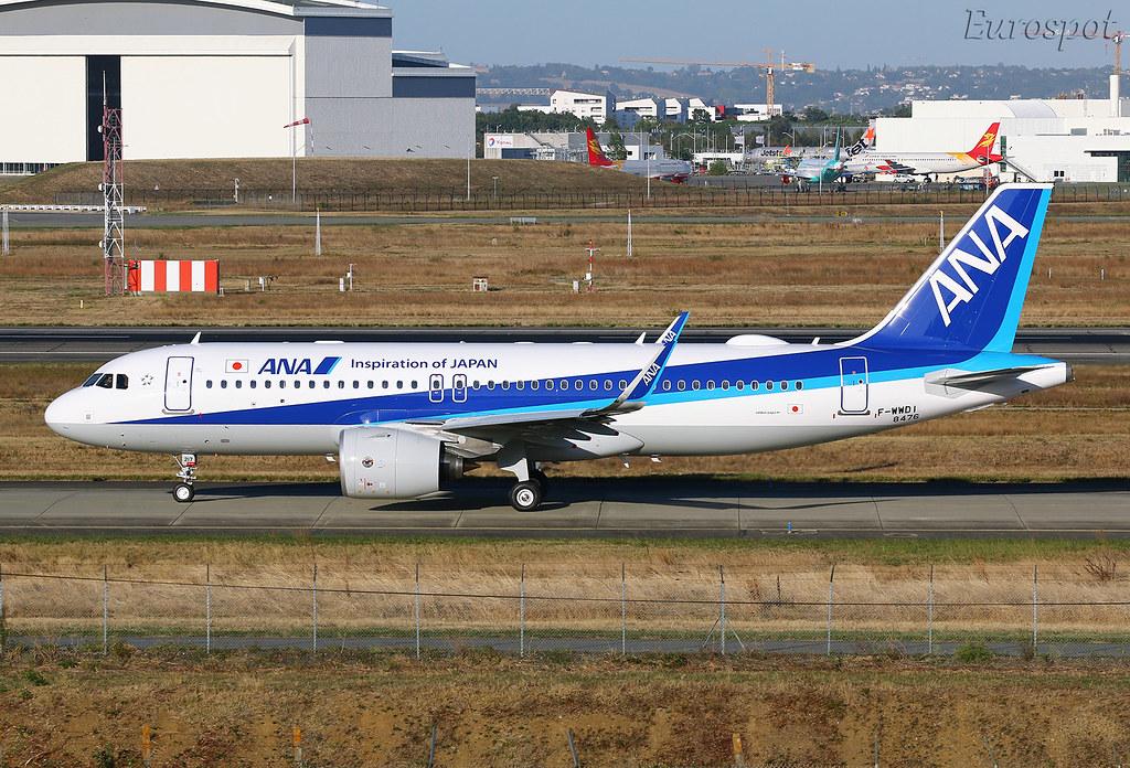F-WWDI Airbus A320 Neo ANA