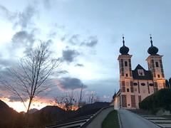 Wallfahrtskirche Frauenberg im Herbst 2018