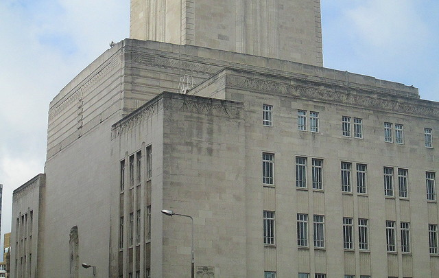 More Detail, George's Dock Ventilation and Control Station, Liverpool