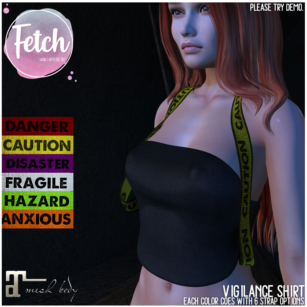 [Fetch] Vigilance Shirt @ Salem