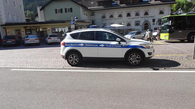 Town Police car, Sony DSC-HX10V