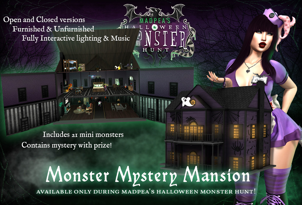 MadPea Monster Mystery Mansion - TeleportHub.com Live!