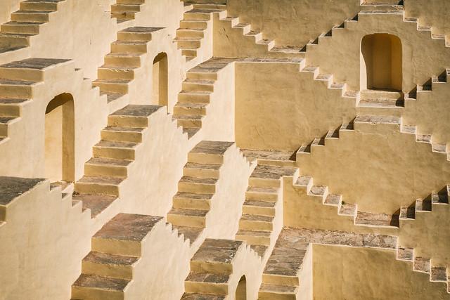 The Stepwell in Amer   Panna Meena ka Kund Baori, Amer, India
