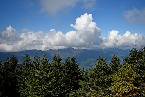 clouds sky trees valley mountain ncmountainman nikon d3400 phixe brp blueridgeparkway nc northcarolina vista scenic cumulus erosion mountmitchell ngs nationalgeographicsociety forest woods lowresolutionversion