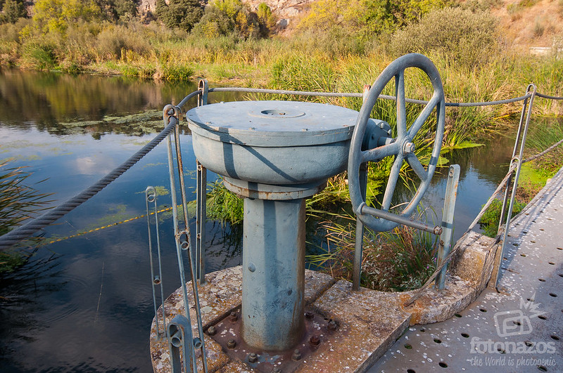 Presa vieja del río Aulencia