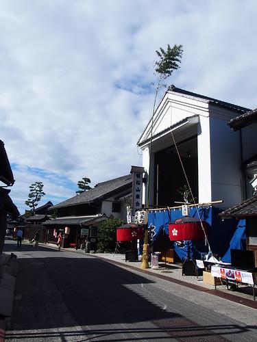 The streets of Arimatsu/有松の街並み