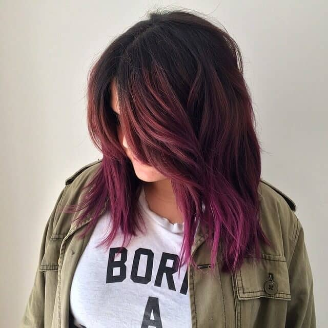 best burgundy hair dye to Rock this Fall 2019 2